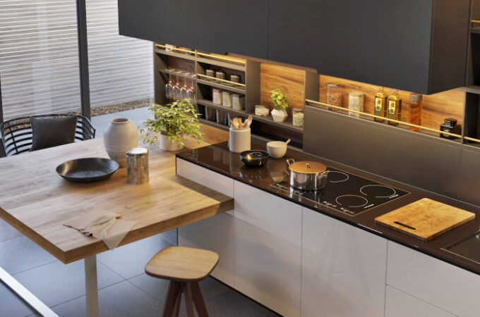 Solutions to Taking Down Walls for Multi-functional Open Kitchen Design